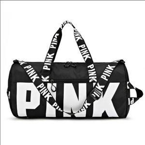 Victoria's Secret PINK Black Gym (Duffle) Bag